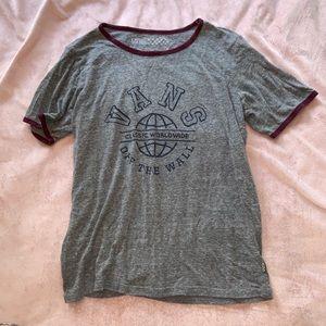 Juniors short sleeve soft vans T-shirt